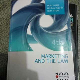 Marketing and The Law 4th Edition. (Bruce Clarke)