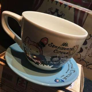 7-11深情馬戲團咖啡杯-歡樂合奏