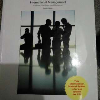 International Management: Culture, Strategy and Behavior, 9th Edition. McGraw-Hill Education