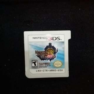 3DS Monster Hunter  3 Ultimate @$15 One Day Only!!!