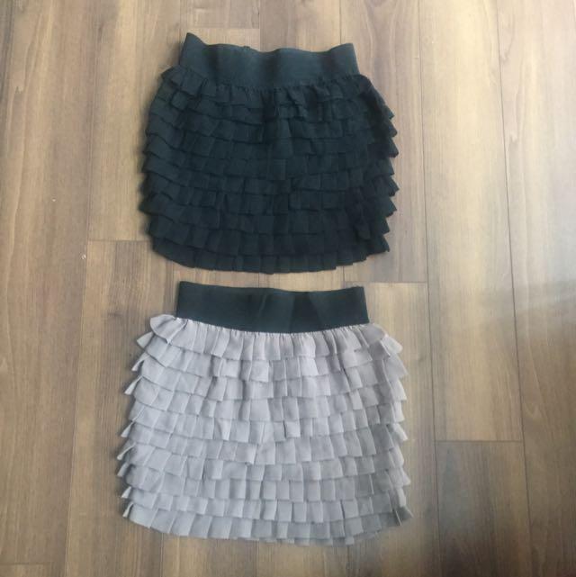 2b Bebe Mini Skirt Lot in XS