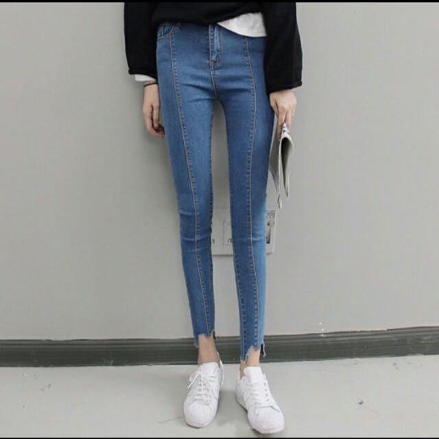 顯瘦牛仔褲