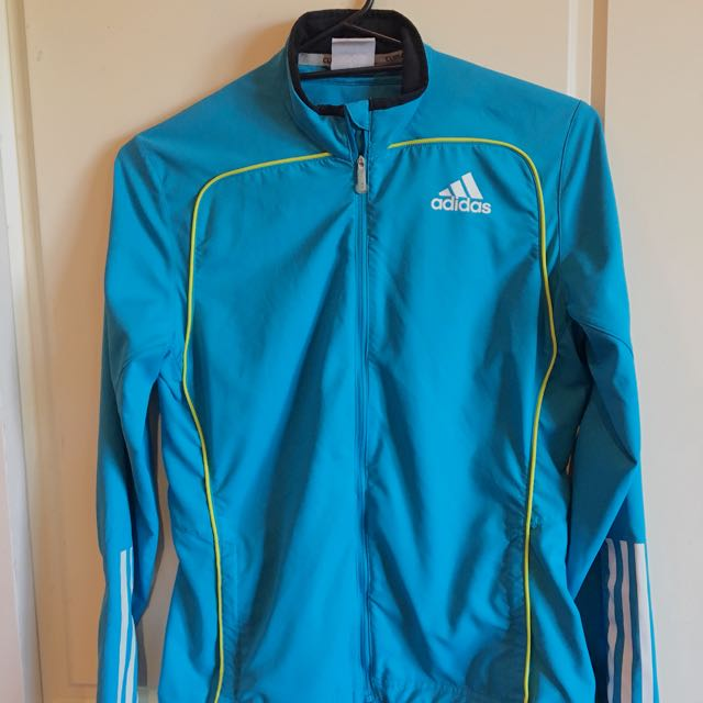 Adidas Blue Climacool Jacket And Undies