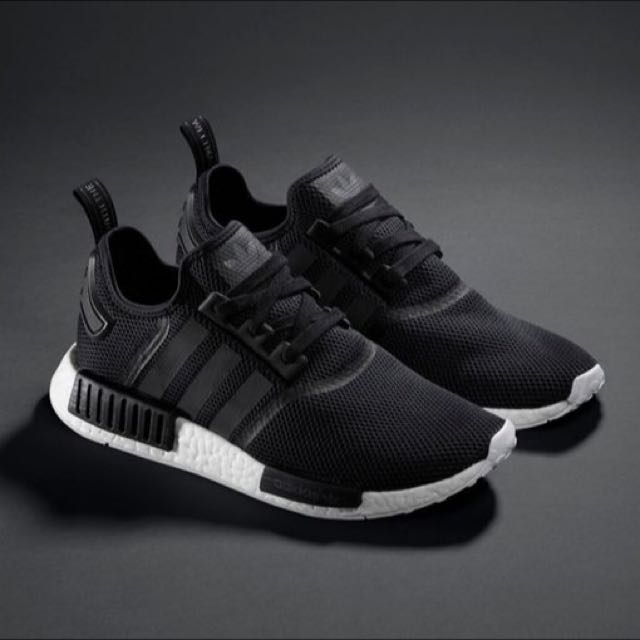 Adidas Nmd R1 Woman s Black Rose Gold Pull Tab f4f304fab