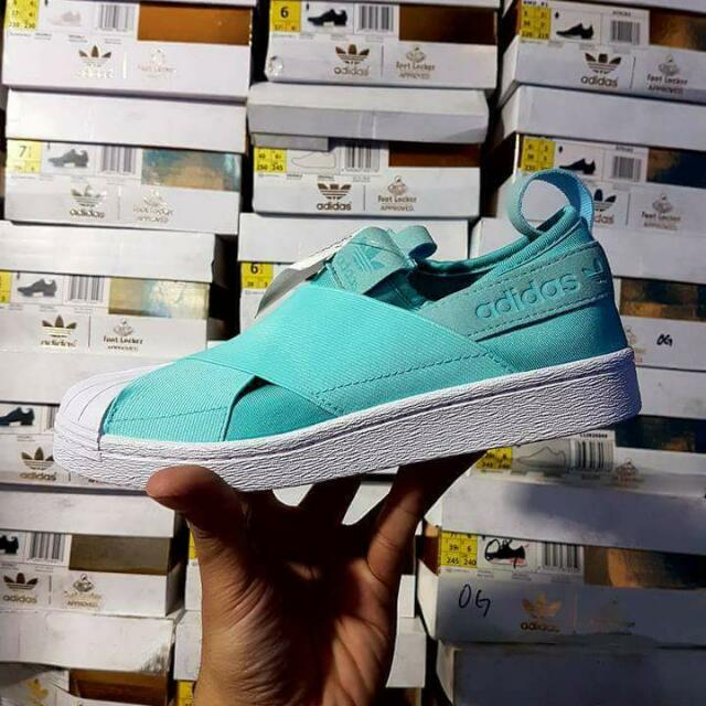 Adidas Slip On/ Mint