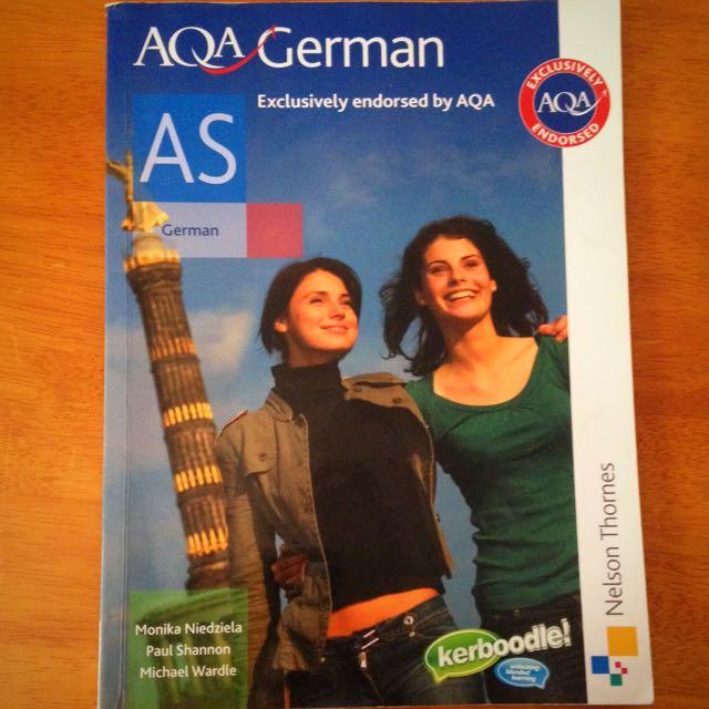 AQA German, VCE German Textbook