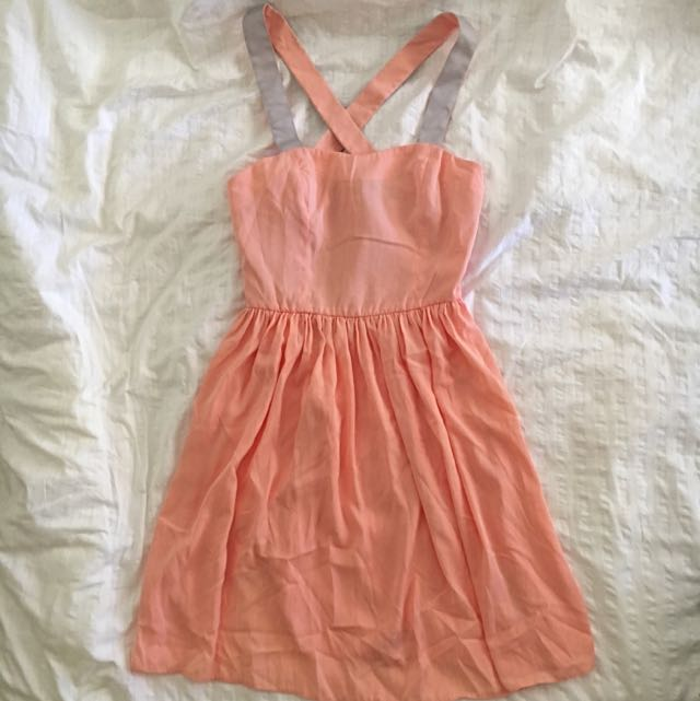 ASOS DRESS CROSS BACK SIZE 6