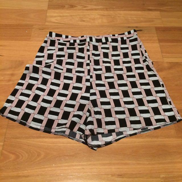 Asos High Waist Dress Shorts