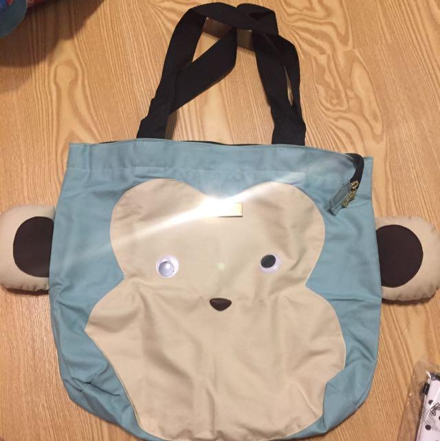 BKK正版 泰國包 肩背包 手提包 可愛動物造型