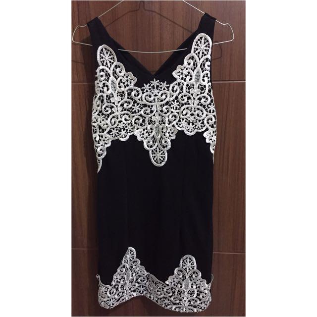 Black Brukat Dress