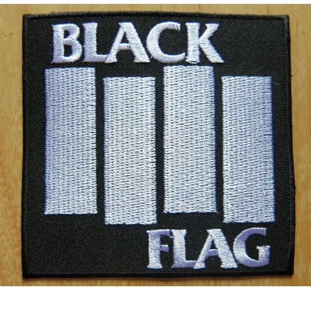 a33b798e6 Black Flag Patch Cloth Patch Iron On Patch Punk Band