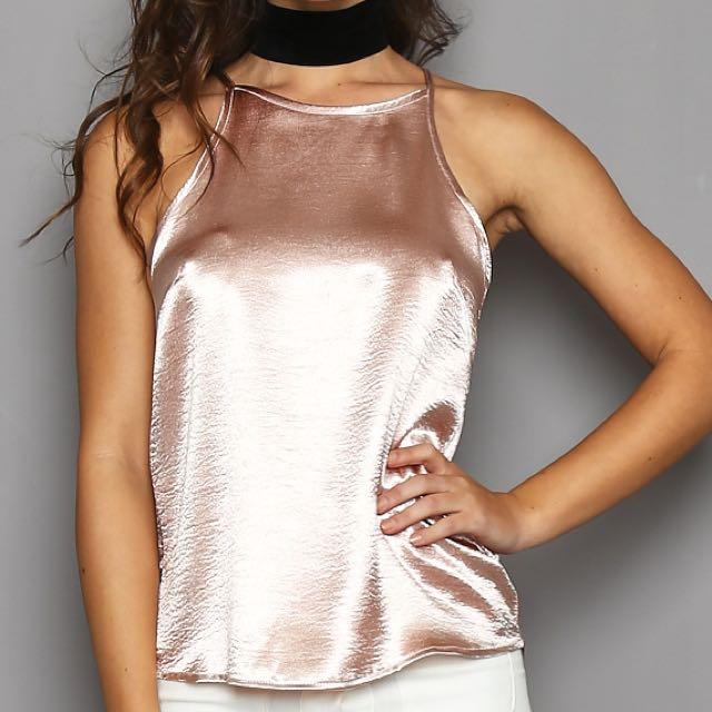 Blush Pink Cami (size 6)