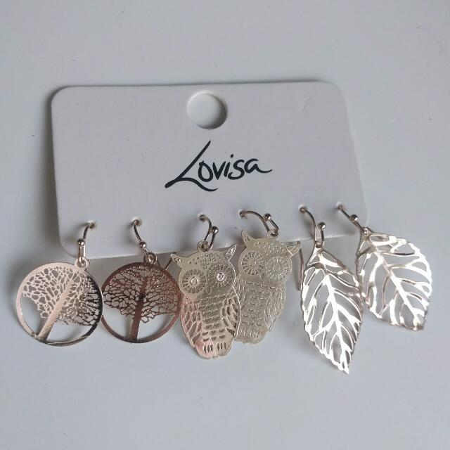 BNWT Lovisa earrings