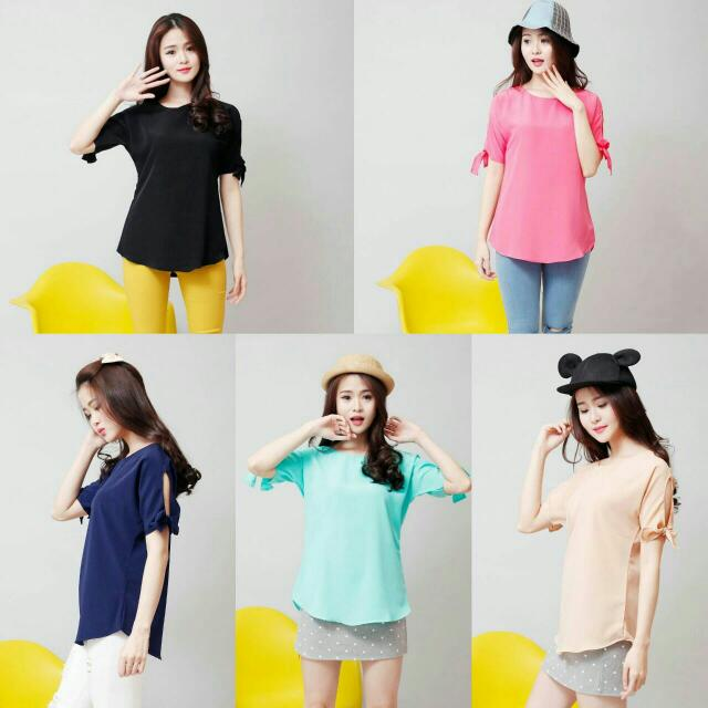 SALE-Bow Tops