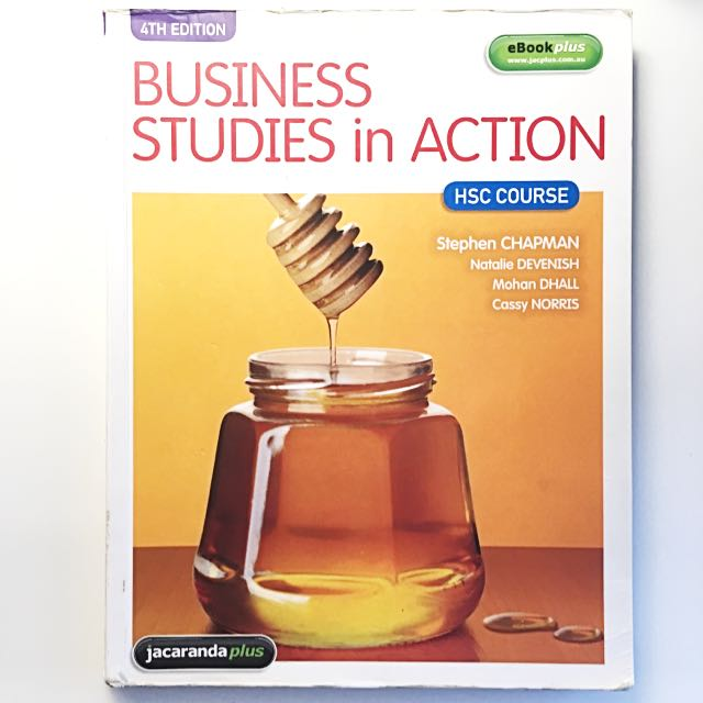 Business Studies in Action HSC Text & eBookPLUS, Textbooks on Carousell