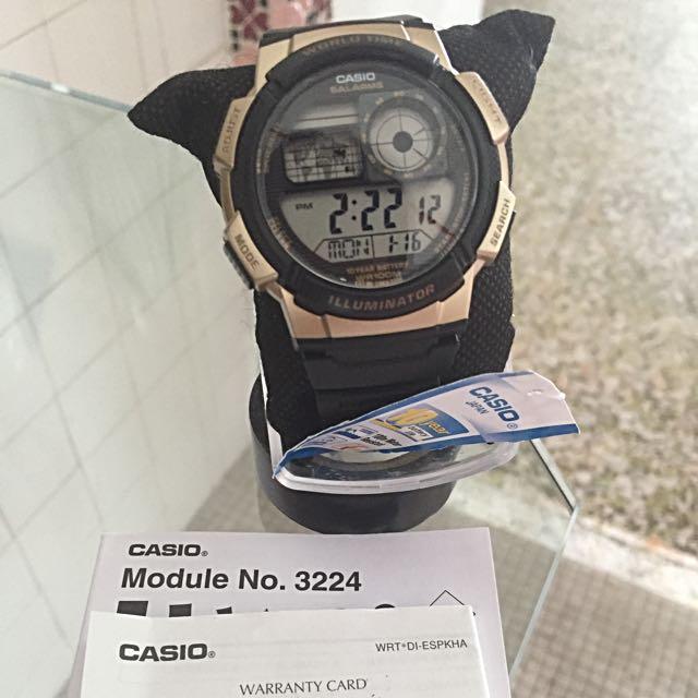 Casio Watch Illuminator AE-1000W