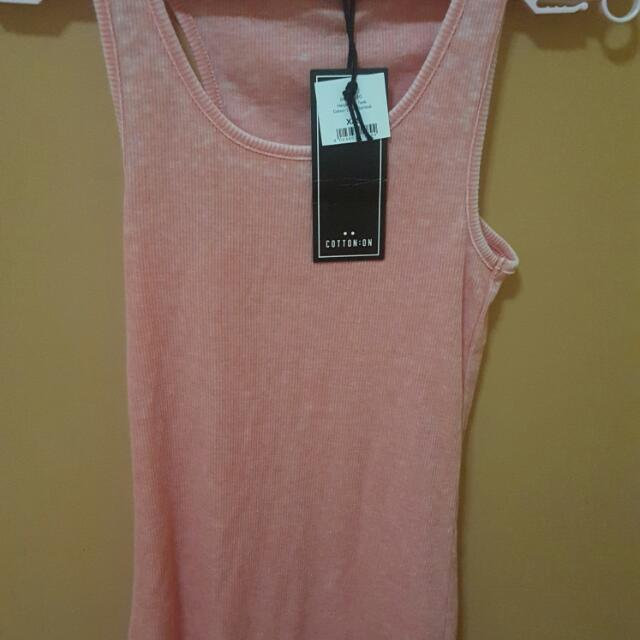 Cotton On Harper Rib Tank Top