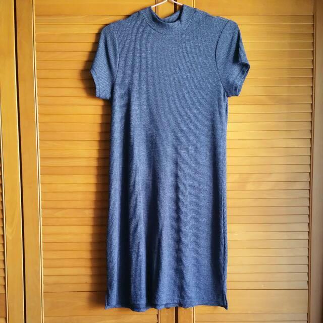 Cotton On High Neck Knit Dress