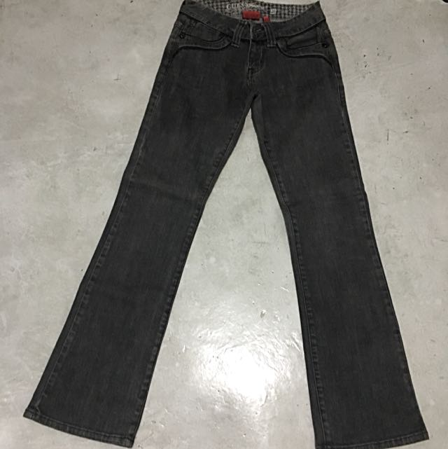 Dark grey Guess Bootcut Jeans