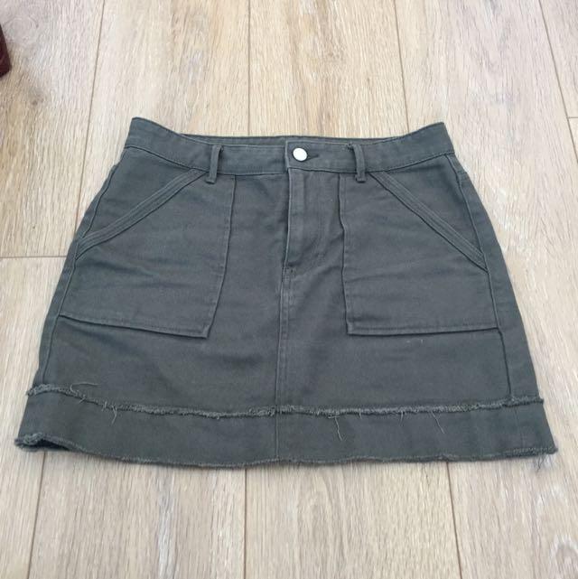 Denim Skirt Size 8