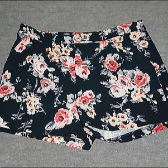 Dotti Floral Pants - Size 12