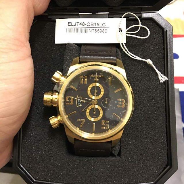 全新elegantsis對錶 不拆賣