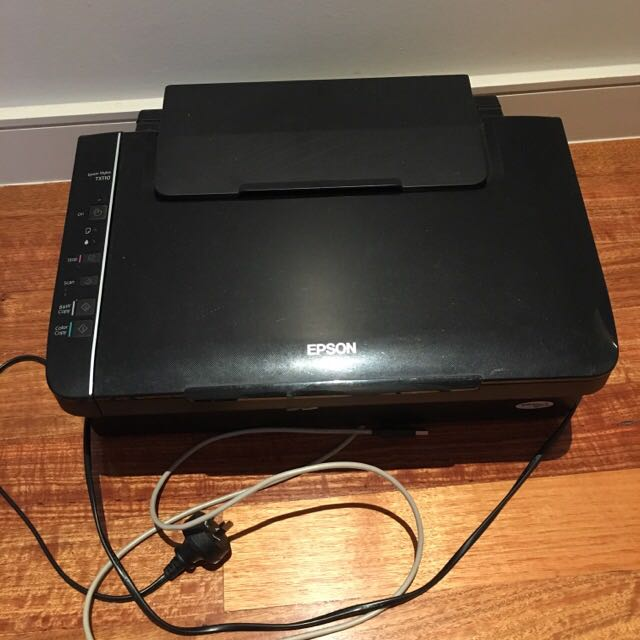Epson TX110 Scanner + Ink Printer