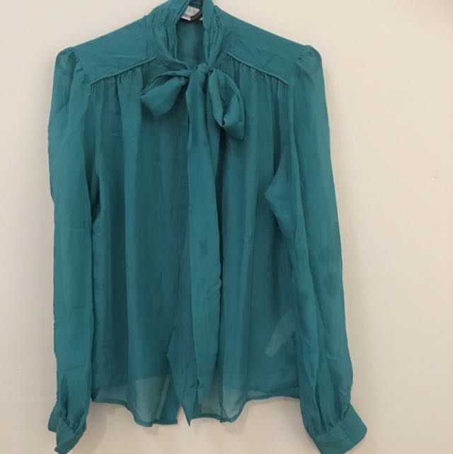 Forever New Turquoise Shirt