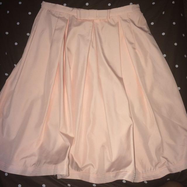 Glory Bow Flare Skirt
