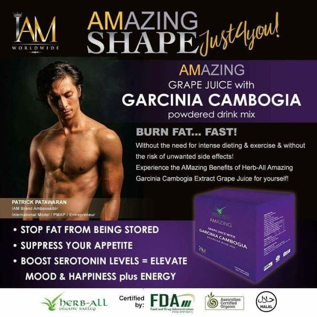 Grape Juice With Garcinia Cambogia (Weight Loss)