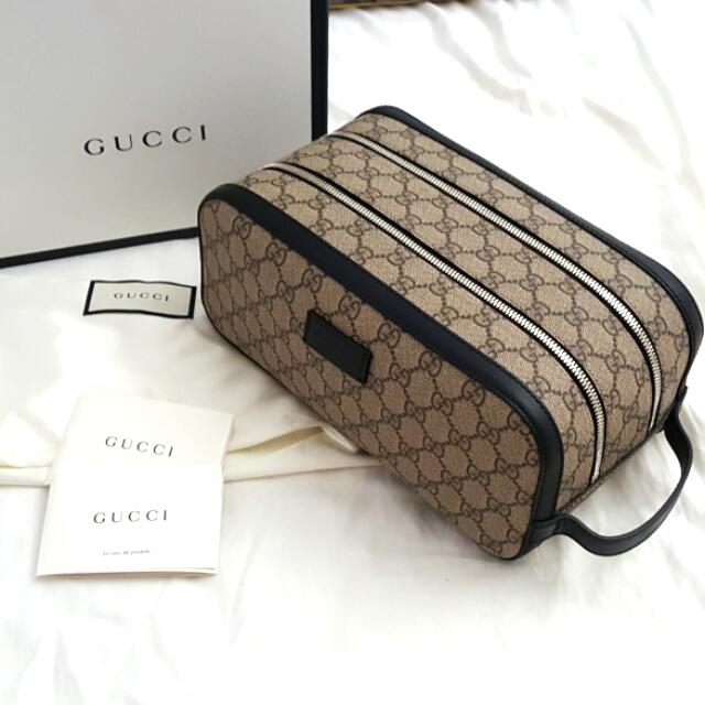 Gucci Toiletry Bag Double Zip