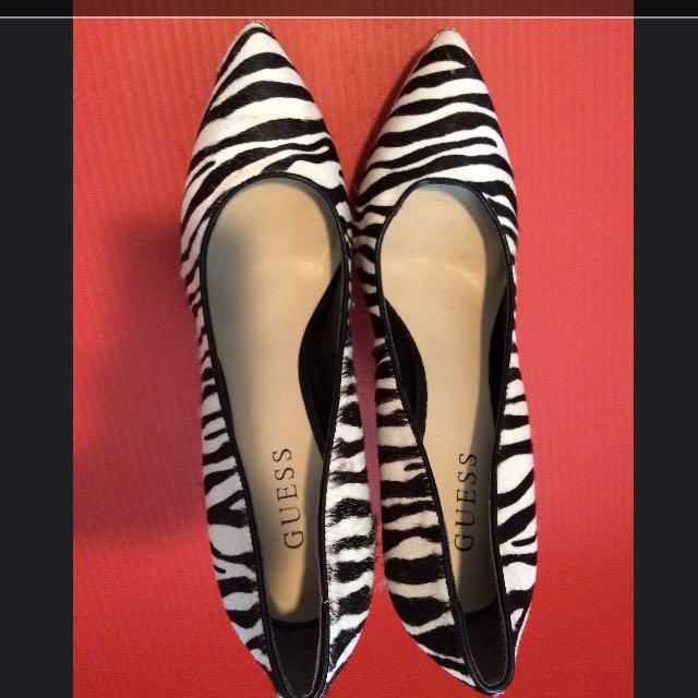 Guess Zebra Print Shoes