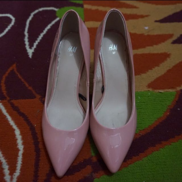 High Heels Hnm peach / pink / nude