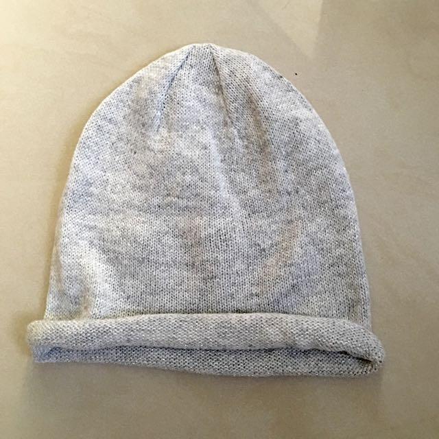 H&M 男針織毛帽