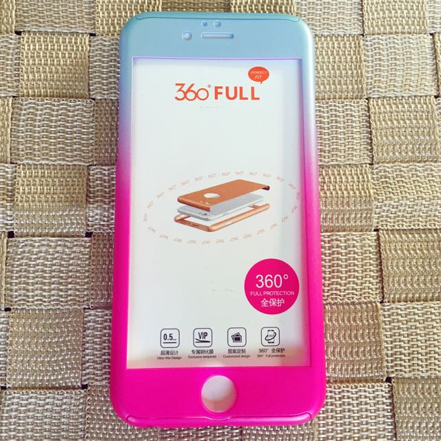 SALE!!! iP6/6s 360 degress Full Protective Case