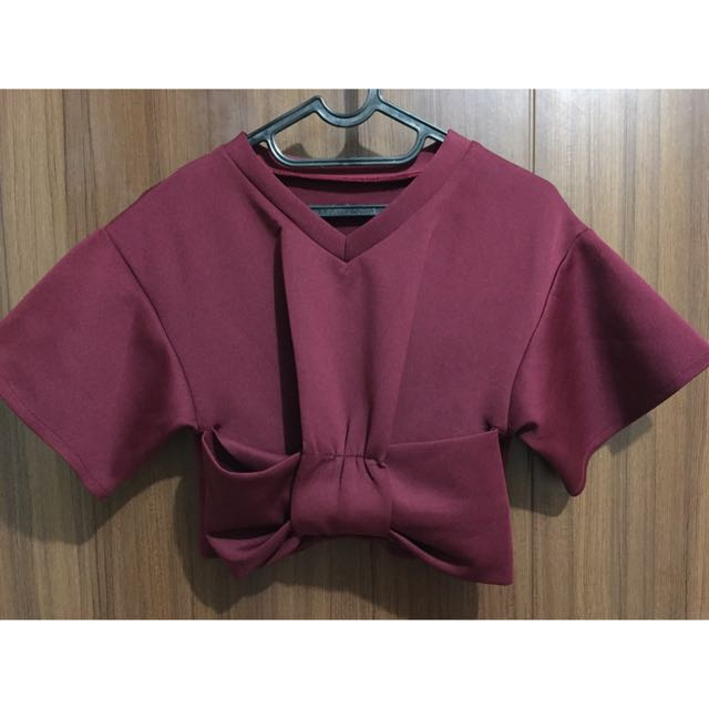 Japanese Bow Tied Crop
