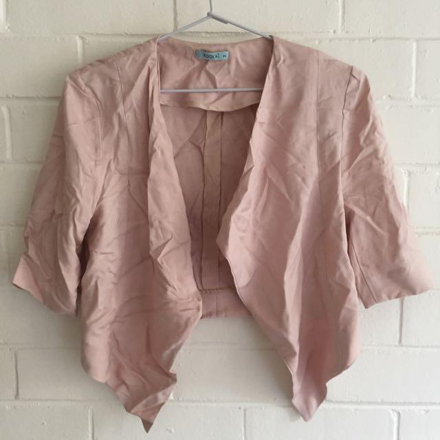 Kookai Plush Pink Jacket