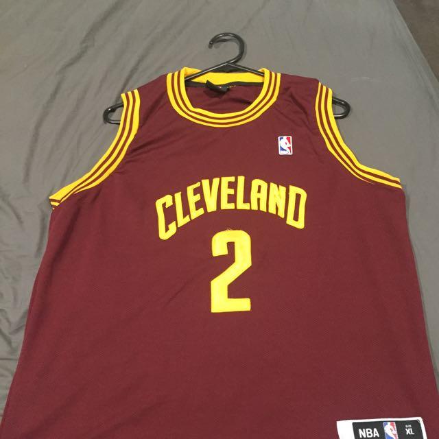 quality design 5b95e 8aa9b Kyrie Irving Cleveland NBA Singlet Jersey, Men's Fashion ...