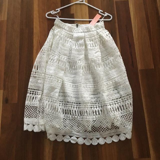 Peppermayo Lace Skirt