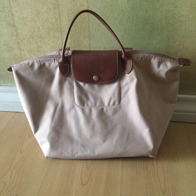 Light pink Longchamp bag