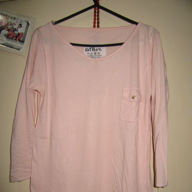 Longsleeve Basic Pink
