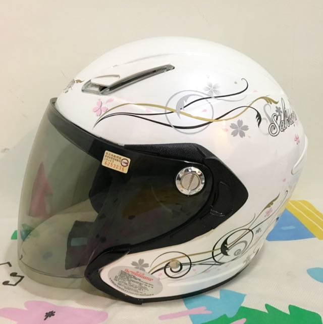M2R 安全帽 (白)