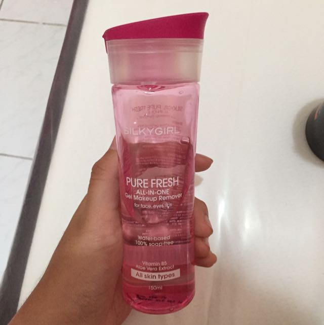 Make Up Remover Gel Silky Girl
