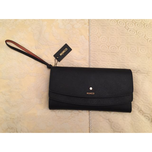 Mimco Supermicra Travel Wallet