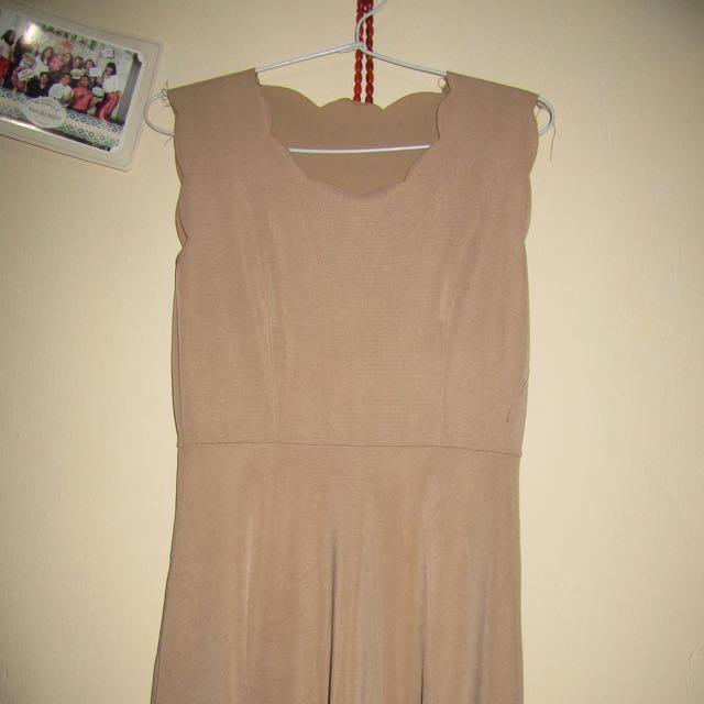 Mini Dress Flair Cream