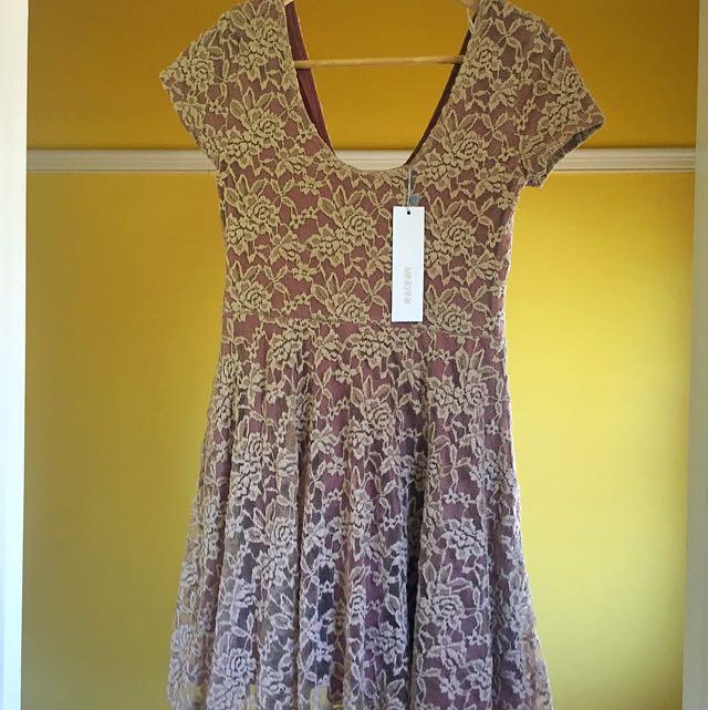 Mink Pink. Mini Dress