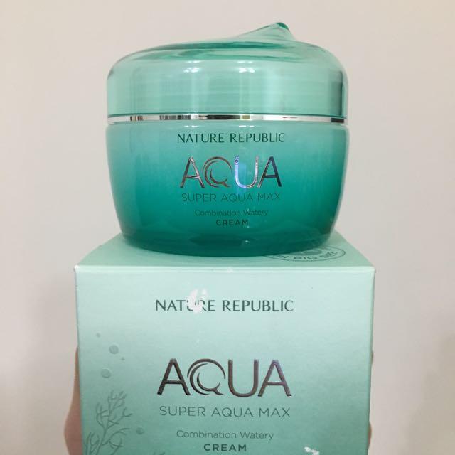 NATURE REPUBLIC 超級水精靈補水面霜#混合性肌膚