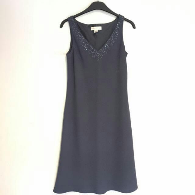 Navy Blue Formal Dress