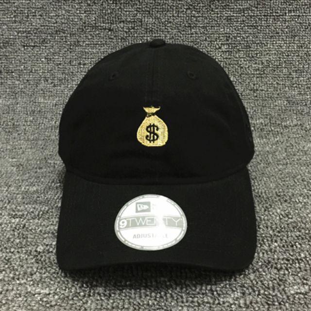 NEW ERA 9TWENTY SNAPBACK MONEY 錢袋 復古老帽 彎簷 電繡 棒球帽 全新正品
