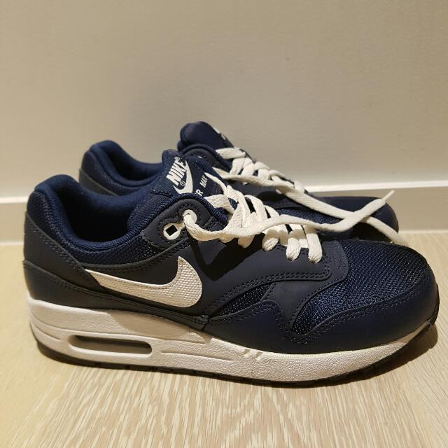 d99c02e718 Nike Air Max One Blue Navy Unisex, Sports, Athletic Clothing on Carousell
